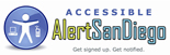 Accessible AlertSanDiego